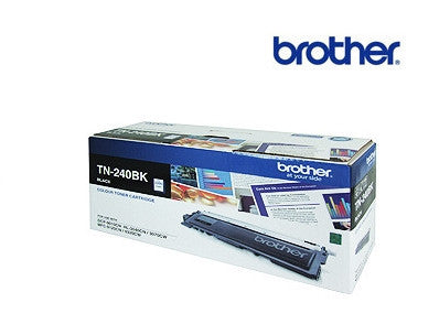 Brother TN-240BK genuine black toner cartridge