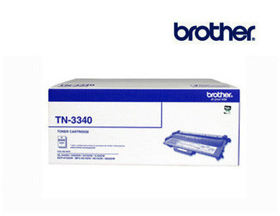 Brother TN-3340 High Yield Black Toner Cartridge