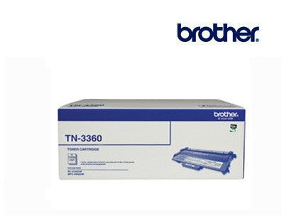Brother TN-3360 genuine black high yield toner cartridge