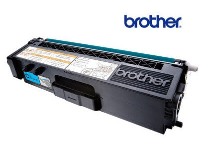 Brother TN-348C Genuine Cyan  Toner Cartridge