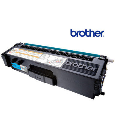 Brother TN-340C Genuine Cyan  Toner Cartridge