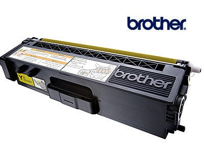 Brother TN-340Y genuine yellow toner cartridge