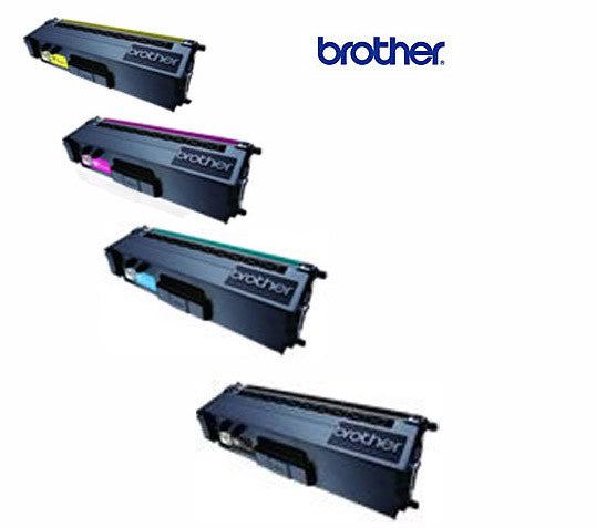 Brother TN-341 BCMY BUNDLE Genuine Black  Laser Cartridges