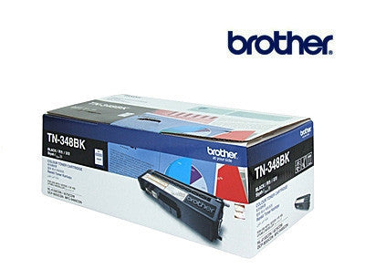 Brother TN-348BK Genuine Black  High Yield  Toner Cartridge