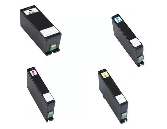 Dell V525W BCMY Bundle Extra High Yield Ink Cartridges