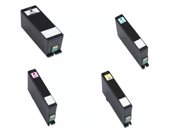 Dell V725W BCMY Bundle Extra High Yield Ink Cartridges