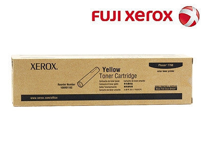 Xerox 106R01162 Genuine Yellow Laser Cartridge