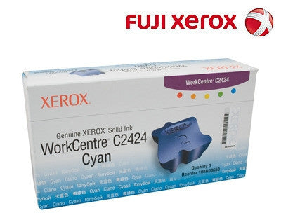 Xerox 108R00660 Genuine Cyan Ink Sticks-3 pack