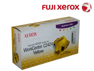 Xerox 108R00662 Genuine Yellow Ink Sticks-3 pack