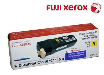 Xerox CT201117 Genuine Yellow Laser Cartridge