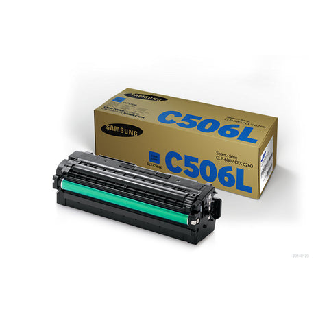 Samsung CLP680 / CLX6260 Cyan Toner Cartridge - 3,500 pages