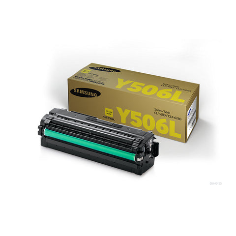 Samsung CLP680 / CLX6260 Yellow Toner Cartridge - 3,500 pages