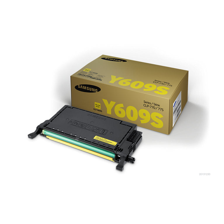 Samsung CLT-Y609N Yellow Toner Cartridge - 7,000 pages @ 5%
