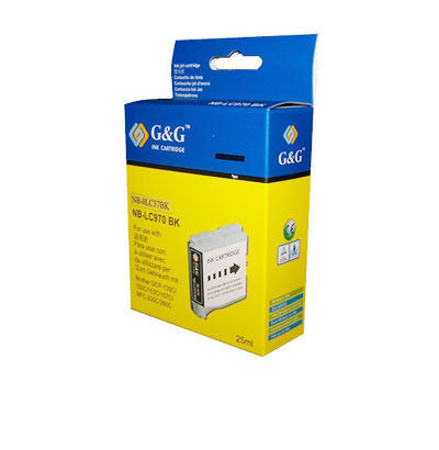 Brother LC233BK Black Ink Cartridge Compatible