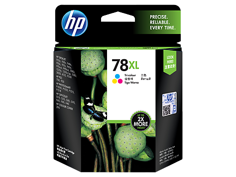 HP C6578AA (HI78A)  Colour Ink Cartridge - 38ml - 970 pages