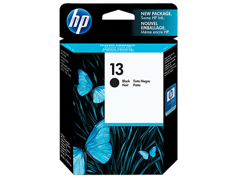 HP 13 Genuine Black Ink Cartridge - 850 pages