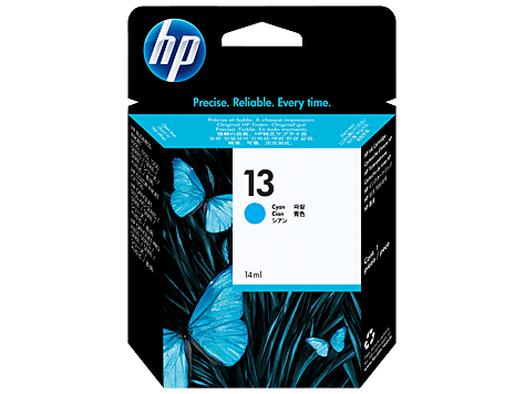 HP C4815A (HI13C) Genuine Cyan Ink Cartridge  - 850 pages
