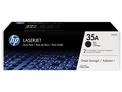 HP CB435AD(HT35T)  Toner Cartridge Twin Pack - 2 x 1,500 pages