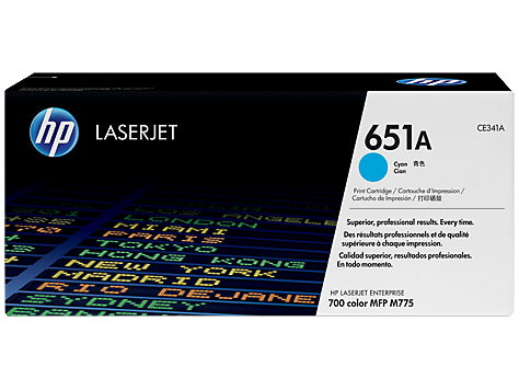 HP CE341A(HT341)  Cyan Toner Cartridge - 16,000 pages