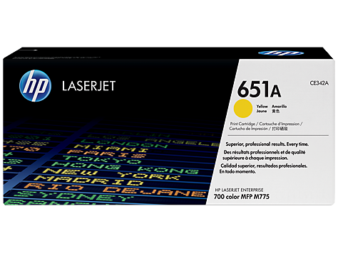 HP CE342A(HT342)  Yellow Toner Cartridge - 16,000 pages