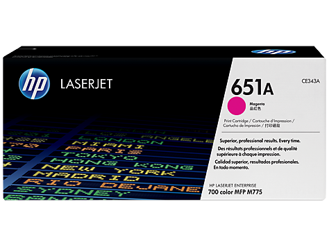 HP CE343A(HT343)  Magenta Toner Cartridge - 16,000 pages