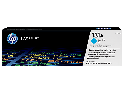 HP CF211A(HT211)  Cyan Toner Cartridge - 1,800 pages