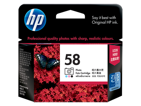 HP C6658AA (HI58) Genuine Photo Ink Cartridge - 125 pages