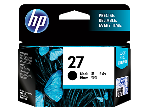 HP C8727AA (HI27) Genuine Black Ink Cartridge - 220 pages