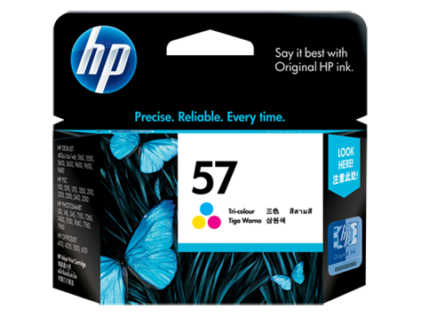 HP C6657AA (HI57B) Genuine Colour Ink Cartridge - 400 pages