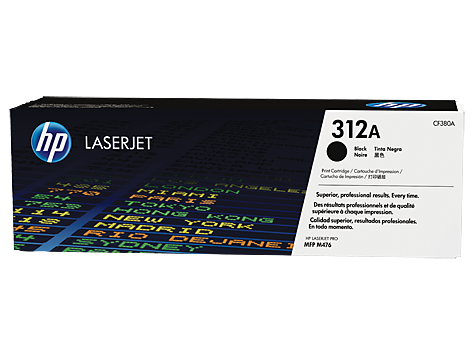 HP CF380A(HT312B)  Black Toner Cartridge - 2,400 pages