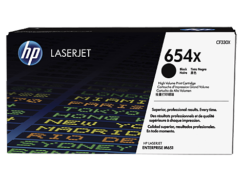 HP CF330X(HT654BX)  Black Toner Cartridge - 20,500 pages