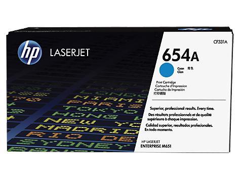 HP CF331A(HT654C)  Cyan Toner Cartridge - 15,000 pages