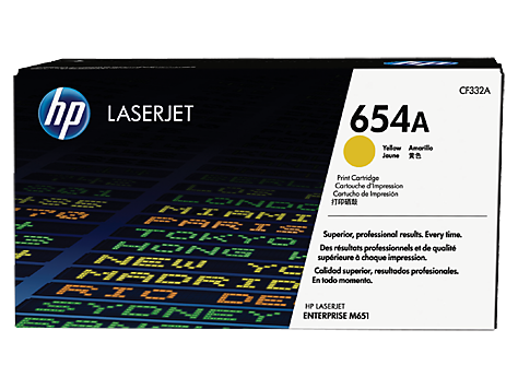 HP CF332A(HT654Y)  Yellow Toner Cartridge - 15,000 pages