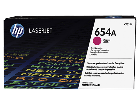HP CF333A(HT654M)  Magenta Toner Cartridge - 15,000 pages