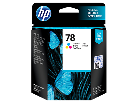 HP C6578DA (HI78D)  Colour Ink Cartridge - 19ml - 450 pages