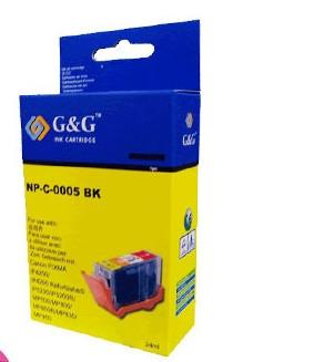 Canon PGI5BK compatible printer cartridge for the  MP500,  MP510,  MP520,  MP530,  MP600,  MP600R,  MP610,  MP800,  MP800R,  MP810,  MP830,  MP960,  MP970 printers