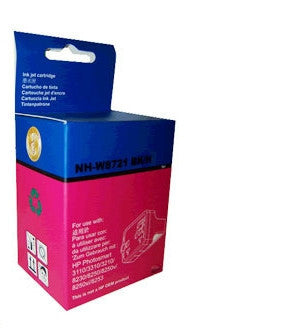 HP 02 (C8721) Black Ink Cartridge remanufactured