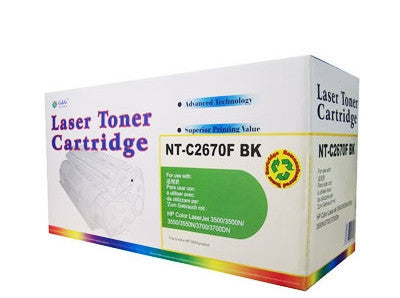 HP Q2670A Black Toner Cartridge Remanufactured (Recycled)