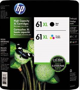 HP J3N03AA (HP #61XL) Ink Photo Value Pack cartridges