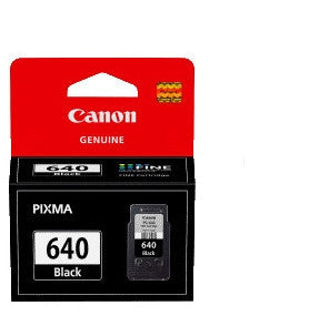 Canon PG640XXL Genuine OCN Black Fine Ink Cartridge