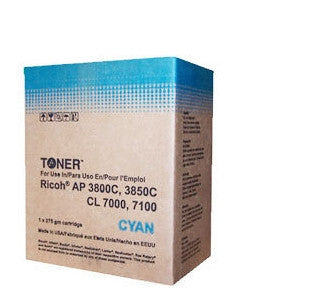 Ricoh Type 105 Cyan Laser Cartridge Compatible