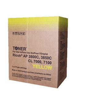Ricoh Type 105 Yellow Laser Cartridge Compatible