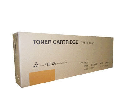 Ricoh 841165 Yellow Copier Cartridge Compatible