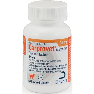 <B>Carprovet</B> Flavored Tablets (Generic Rimadyl)