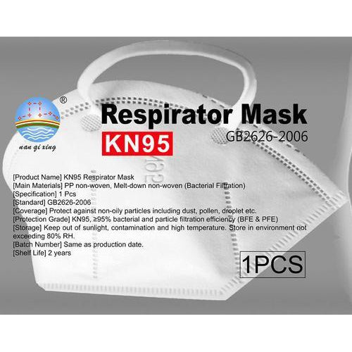 FDA Approved KN95 Face Mask-Box of 50