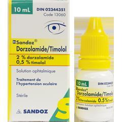 <B>Dorzolamide Timolol</B> Ophthalmic Solution