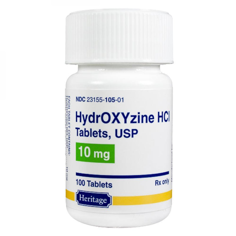 <B>Hydroxyzine HCL</B> Tablets  SHORT DATED 6-30-2021