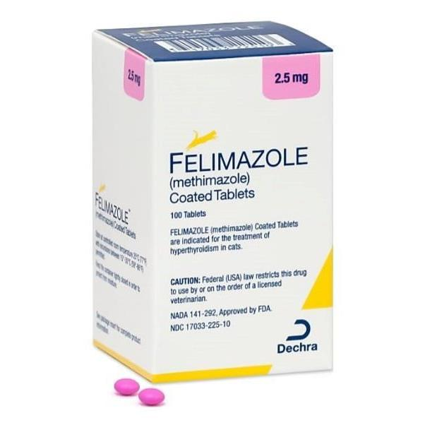 <B>Felimazole</B> Coated Tablets (Generic Tapazole)