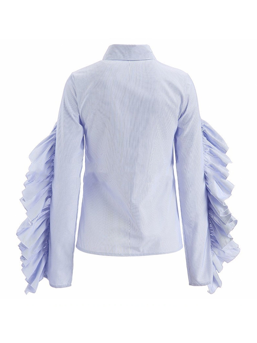 Nicole Ruffled Sleeve Shirt