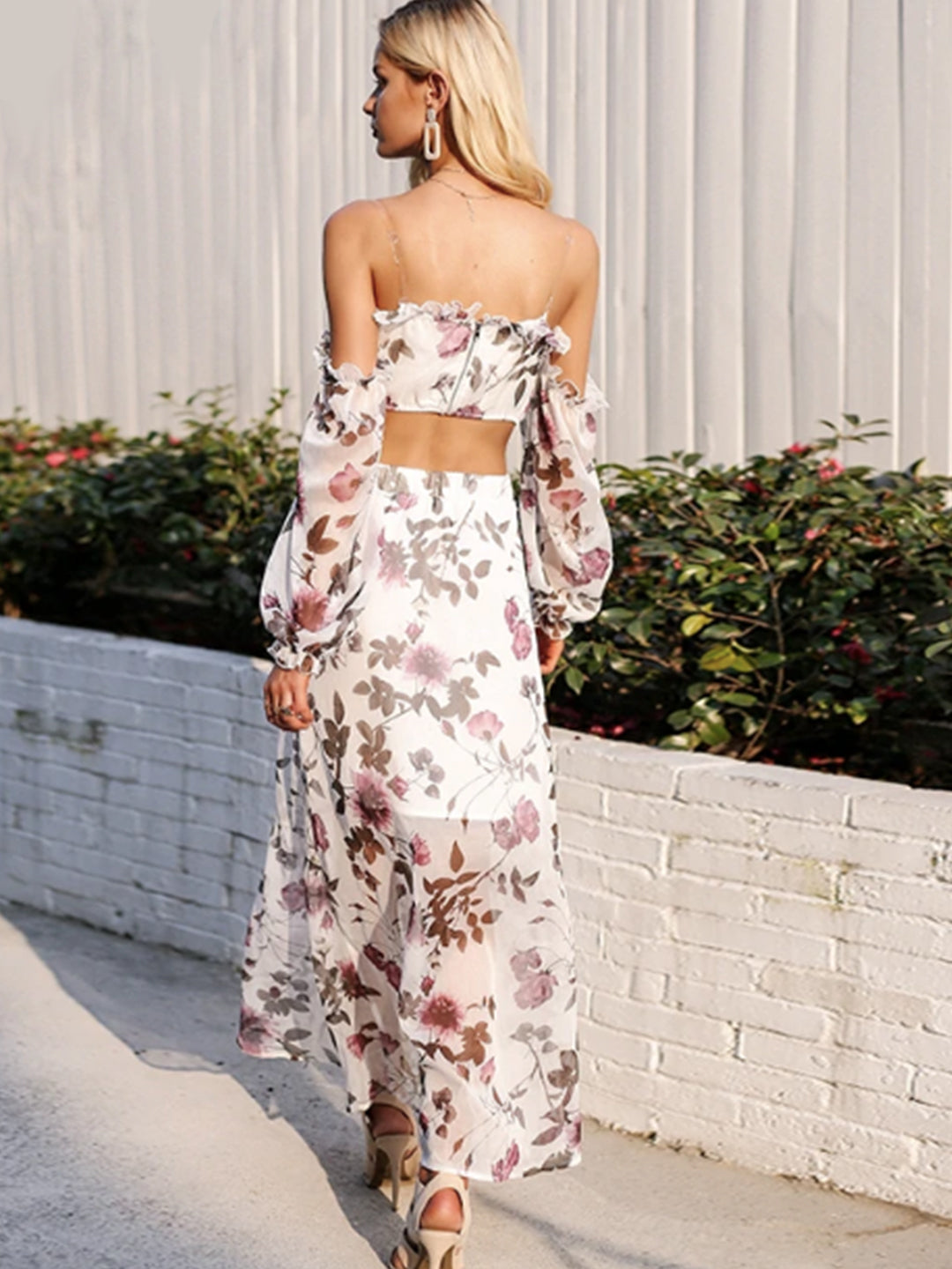 Kim Floral Crop Top & Skirt Co-ord